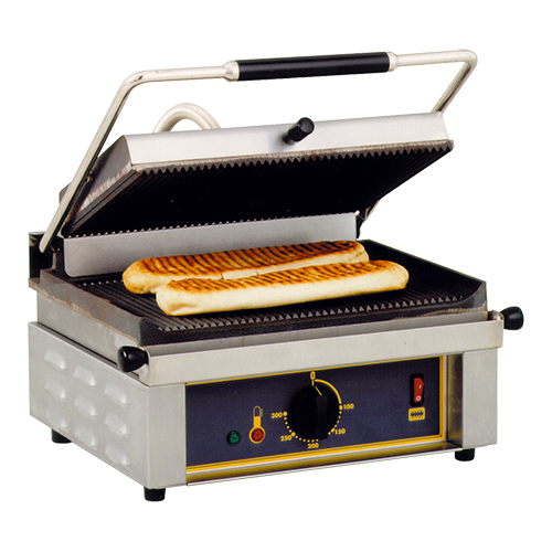 "RollerGrill Contact Grill ""Panini"" gegroefd"