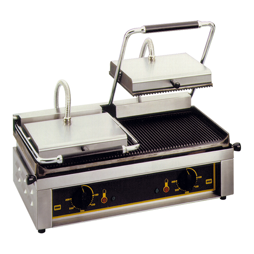 "Roller Grill Contact Grill ""Majestic"" gegroefd"