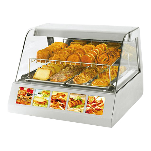 RollerGrill Warmhoudvitrine 2x GN 1/1