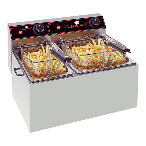 CaterChef Friteuse 5+8 liter