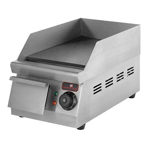 CaterChef Bak/Grillplaat Mini glad