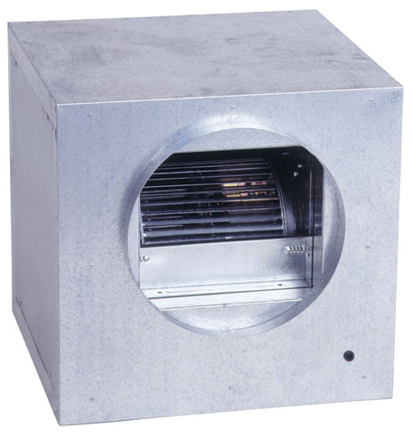 Combisteel Ventilator in box 9/9 - 3000 m³