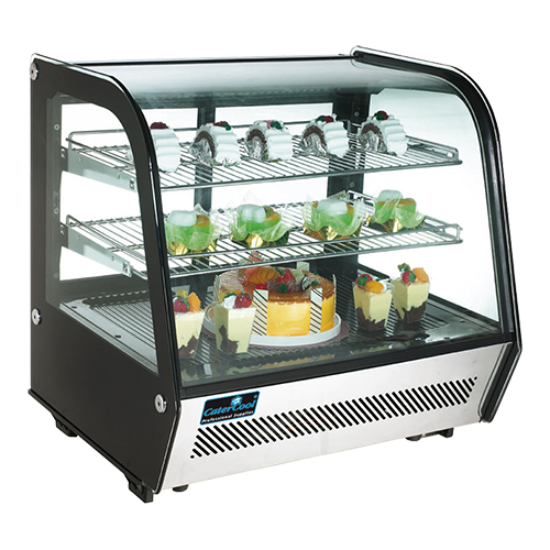 CaterCool opzet Koelvitrine 120 liter
