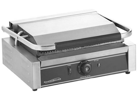 Contact grill panini - geribd - grill oppervlakte 34 x 22 cm