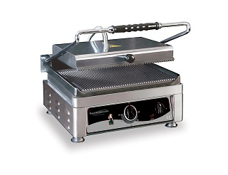 Combisteel Contact grill geribd