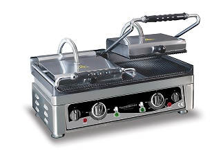 Combisteel Contact grill geribd/geribd