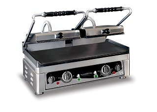 Combisteel Contact grill glad/geribd