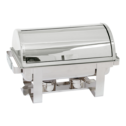 MaxPro Chafing Dish GN 1/1 inclusief roll-top deksel