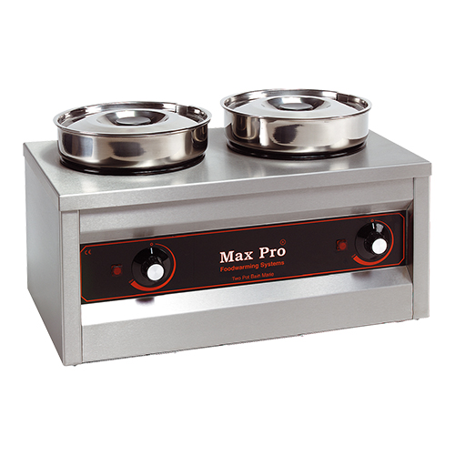 MaxPro Chocolade-Warmer 2 bain maries