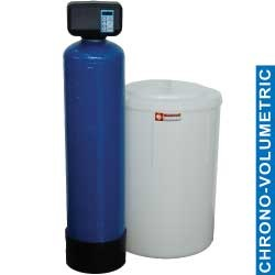 Diamond Waterontharder Chrono- en volumemeter 50 liter monoblok