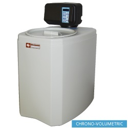 Diamond Waterontharder Chrono- en volumemeter 8 liter monoblok