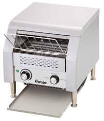 Bartscher Doorloop toaster circa 150 sneetjes brood per uur