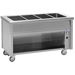 Diamond Bain-marie element op open kast 4 GN - self 700