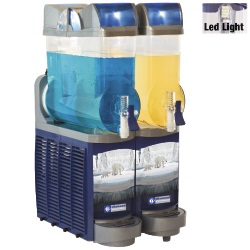 Diamond gekoelde drank dispenser 2x 14 liter
