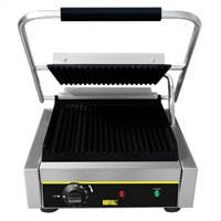Buffalo budget contact grill groot gegroefd