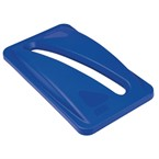 Rubbermaid Slim Jim Deksel blauw papier