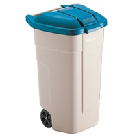 Rubbermaid Big Wheel Container 100 liter blauw