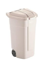 Rubbermaid Big Wheel Container 100 liter beige