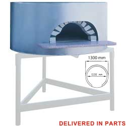 Diamond traditionele Pizza Oven op hout Ø 110 cm - Napoli Line