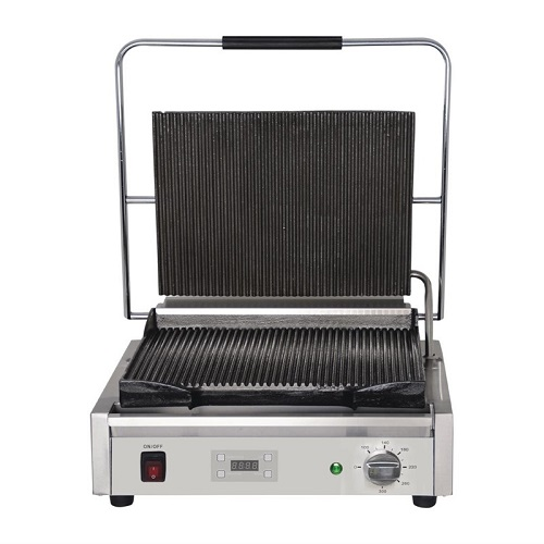 Buffalo digitale grote Contact grill geribd