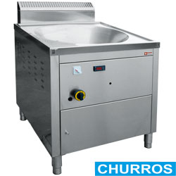 "Diamond Friteuse op gas voor churros 22 liter ""turbo"" - Churros Gas Fryer"