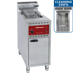 Diamond Gas Friteuse 16 liter op kast - Fryers Line Plus