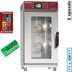 Diamond Elektrische Stoom Convectie Oven 11x GN 1/1 met Touch Screen en Auto Cleaning - Smart Line