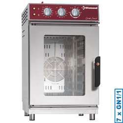 Diamond Elektrische Stoom Convectie Oven 7x GN 1/1 mechanisch - Smart Line