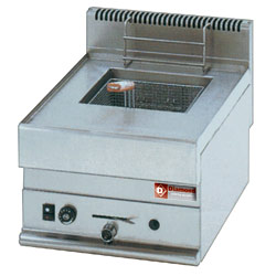 Diamond Friteuse op gas met 1 kuip 8 liter - Top Alpha 650 serie