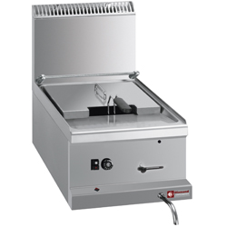 Diamond Friteuse op gas met 1 kuip 10 liter - Top Optima 700 serie