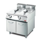 Gastro M 700 Friteuse op gas 2x 13 liter 70/80FRG