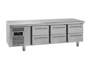 Gram KS 0-6H Snackcounter met 6 lades 305 liter