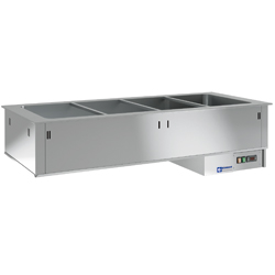 Diamond Bain-marie element 2 GN - self drop in