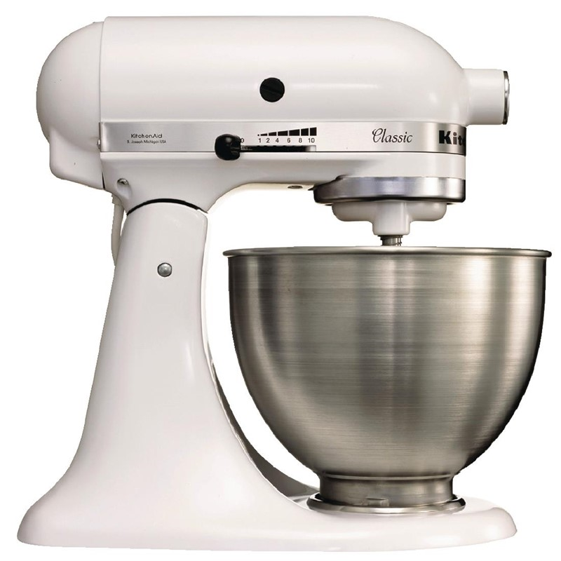 KitchenAid Professionele Mixer-Keukenrobot 4,28 liter wit