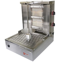 Diamond Gyros Grill op gas 20 kilo