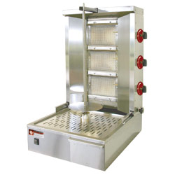 Diamond Gyros Grill op gas 35 kilo