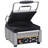 Buffalo contact grill enkel gegroefd/glad