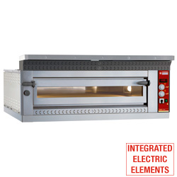 "Diamond Elektrische Pizza Oven ""extra large"" voor 4 pizza's van Ø 35 cm - Logic Line Plus"