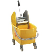 Rubbermaid mopemmer geel