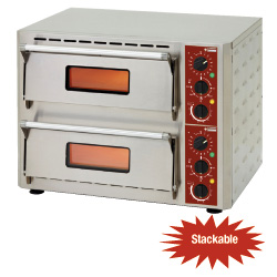 Diamond Elektrische Pizza Oven met 2 kamers - Pizza Quick