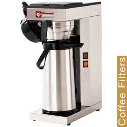 Diamond filter koffiemachine - 1 groep met thermoskan 2,5 liter