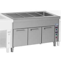 Diamond Bain-marie element op warmkast 3 GN - self 800