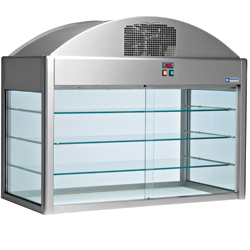 Diamond gekoelde Vitrine 4 GN - Self 800 serie