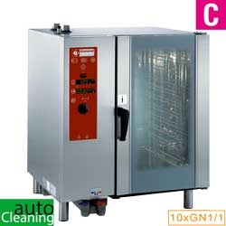Diamond directe Stoom Oven (gas/elektrisch) met automatic cleaning system 10x GN 1/1 - 8x 60 x 40 cm