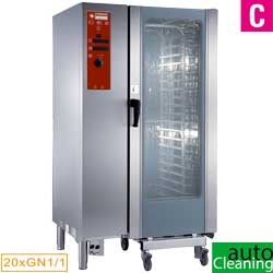 Diamond directe Stoom Oven (gas/elektrisch) met automatic cleaning system 20x GN 1/1 - 16x 60 x 40 cm